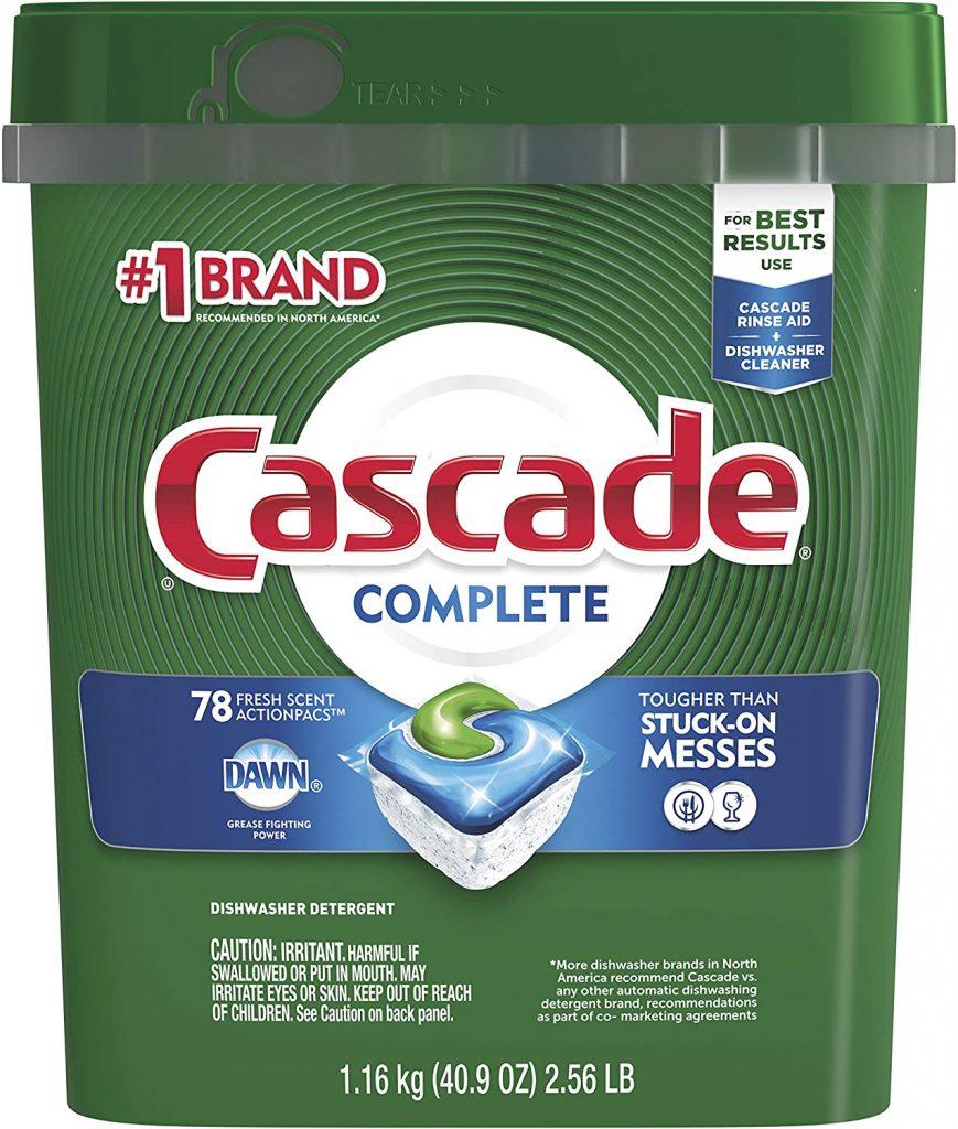 Cascade Complete Dishwasher Pods
