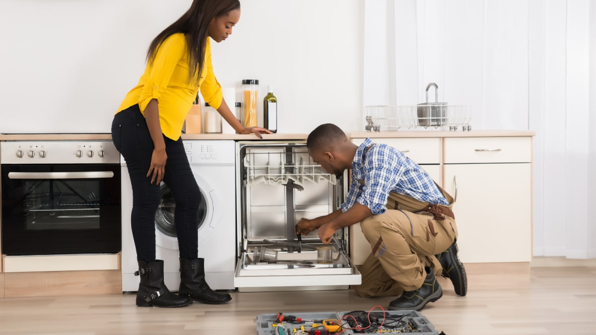 How to install a Dishwasher Where There's No Existing Dishwasher