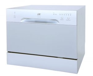 SPT SD-2213S ENERGY STAR Compact Countertop Dishwasher