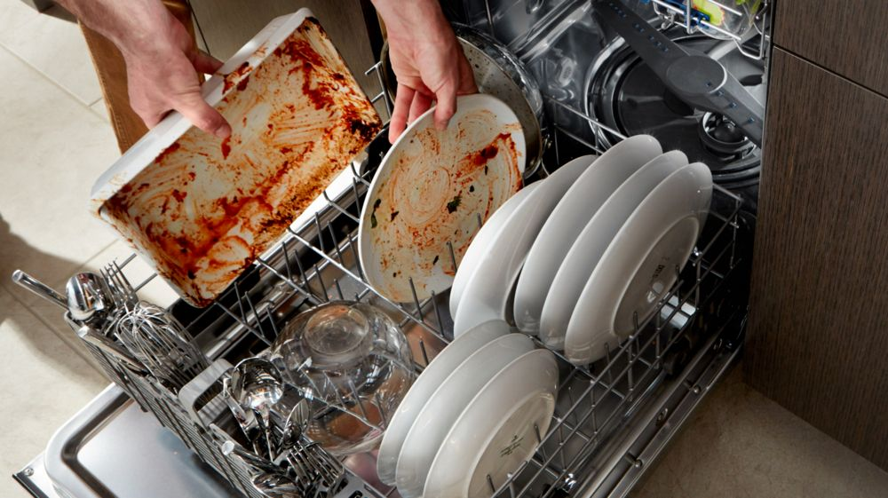 Dishwasher is dirty