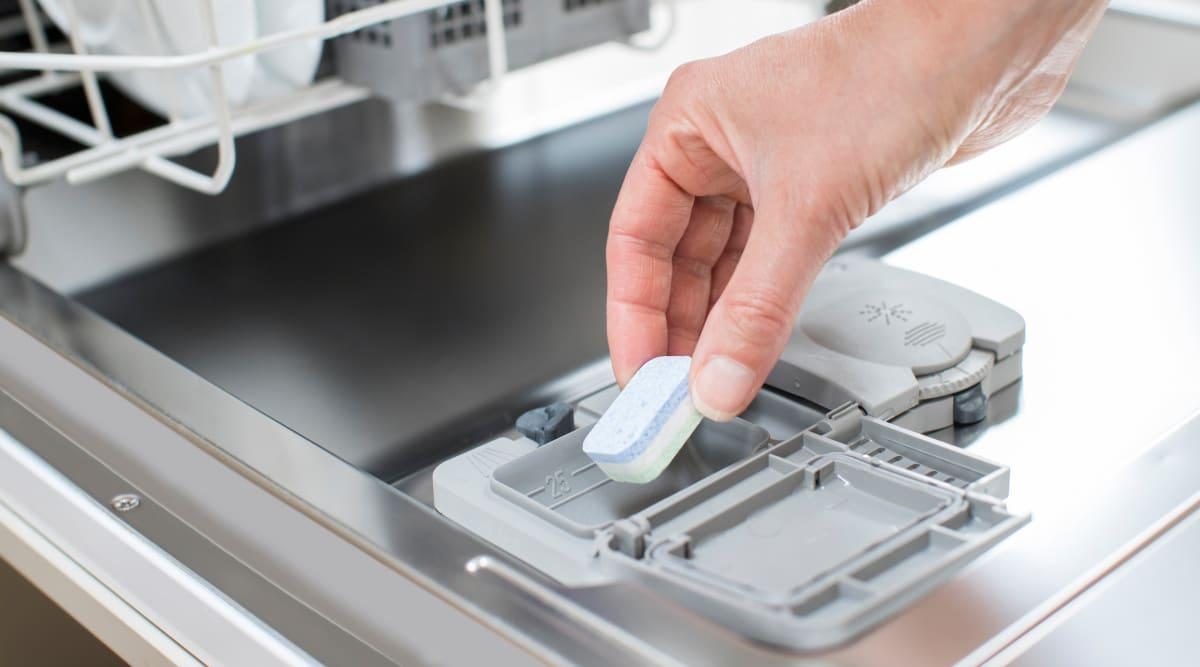 Wrong dishwasher tabs